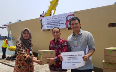 CSR Assistance for Victims of the Palu – Donggala Earthquake