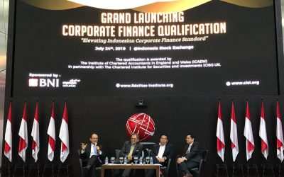 Grand Launching Corporate Finance Qualification